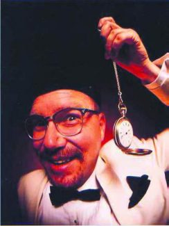 Rusty Z returns to the Back Bowl in Eagle Saturday for his family-friendly show.