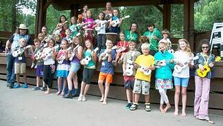 School of Rock campers will take the stage at Little Beach Amphitheater in Minturn Saturday.