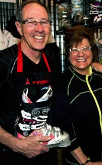 Jeannie Thoren and her husband Tom Haas operate the Jeannie Thoren Women's Ski Center in Lionshead.  Jeannie is widely known for helping to revolutionize the women's ski industry.