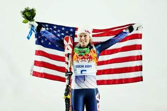 Eagle-Vail's Mikaela Shiffrin won the women's slalom at the 2014 Olympic Winter Games in Sochi, Russia, in February. She also captured her second consecutive World Cup slalom globe this season. The community will welcome her home at an event Friday in Vail Village.