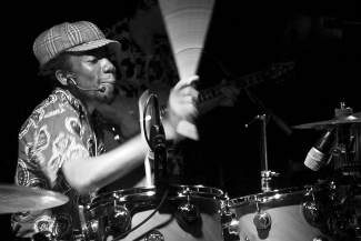 Paa Kow is an internationally renowned drum set player, band leader, composer and teacher of music. He is widely recognized as one of the most remarkable drum set players to tour in Africa, Europe and America.