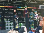 Ski & Snowboard Club Vail's Kade Martin (center) stands on top of the podium in bordercross for the boys ages 8-9 at the United States of America Snowboard and Freeski Association's Snowboard Nationals held at Copper Mountain recently.