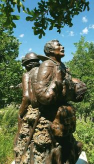 This summer marks the 20th anniversary of the of the Storm King Mountain/South Canyon fire which claimed the lives of 14 firefighters. This memorial statue stands at Two Rivers Park in Glenwood Springs.
