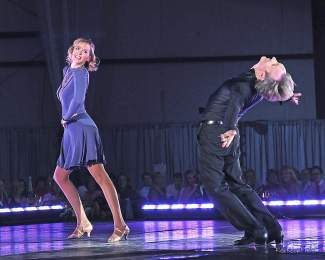 Lynda Sampson and Colin Meiring cut loose to benefit the Youth Foundation's education initiatives during last year's Star Dancing Gala.