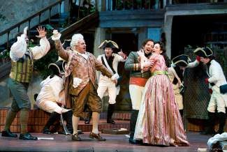 """Opera Colorado Young Artists will present an abridged version of the quintessential opera comedy by Italian composer Rossini, """"The Barber of Seville,"""" to conclude the STARS program on Tuesday."""