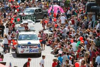 The Vail America Days parade — seen here in a 2013 file photo — has always been a big summer draw, but the rest of the summer season has seen strong growth over the past several years. Summer visits to Vail are up roughly 50 percent in the last decade.