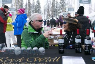 Anemoi, of Palisade, represents the only local winery at the Taste of Vail Debut of Rose event at the Arrabelle in Vail on Wednesday, March 30. Anemoi presented a delicious locally produced Syrah Rosé .