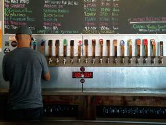 Map of craft brewers coming to Vail Craft Beer Classic