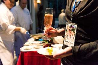At each stop on the Gourmet on Gore Tasting Tour, guests will enjoy a signature drink and savory appetizer.