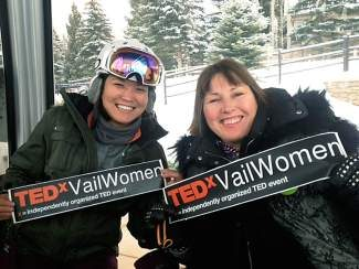Corinne Hara and Kat Haber, organizers of the 2013 TEDxVailWomen event, have pulled in the largest network of community organizations and volunteers in the history of the Vail event.
