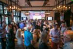 A peek inside The Remedy shows a bustling crowd at the grand opening party at the Four Seasons' remodeled bar  in Vail on July 2.