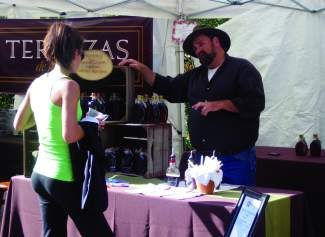 Tim Burton, owner of Burton's Maplewood Farms in Indiana, returns to Gourmet on Gore for the fourth year in a row. He'll also be selling his syrups at the Minturn Market and Edwards Farmer's Market Saturday.