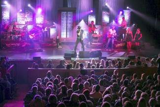 Trace Adkins performed to a sold-out audience Monday at the Vilar Center in Beaver Creek.