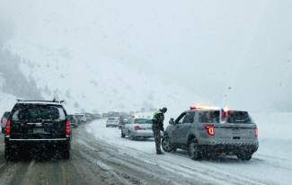 Sunday's snow storms brought traffic delays along the Interstate 70 corridor. Some motorists took upwards of eight hours to drive fro Vail to Denver.