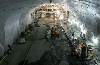 The eastbound bore of the Twin Tunnels near Idaho Springs has been widened from two to three lanes. Now, the Department of Transportation has approved a $55 million project to widen the westbound tunnel.