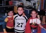 Wow, look who's turning 5 today - my big boy Matthew (middle). Happy B-day, Matthew. LOve, the Villeda family.