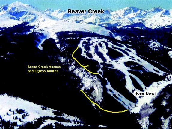 Beaver Creek Proposes Two New Runs For Skiing VailDailycom - Beavercreek trail map