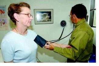 Special to the DailyA doctor found higher blood pressure among people who divied their time between homes in the High Country and seal level.