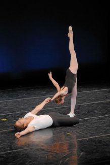 "Special to Daily/Rex KeepPacific Northwest Ballet perform ""Agon"" at last year's sold-out Balanchine Celebration."