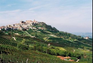 Special to DailyThe town of La Morra in the Piedmont region of Italy. Larkspur's weekly Wine University class will focus on Barolo and Barbaresco wines, some of which are made in La Morra.