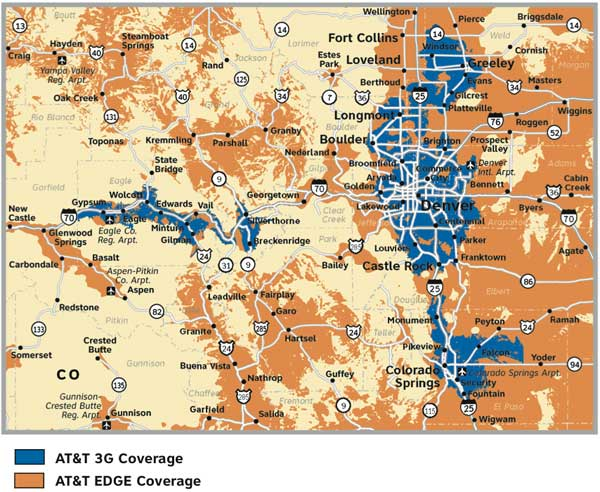 Hows your cell phone reception Eagle County? | VailDaily.com Cell Service Map on cellular service map, internet service map, water service map, food service map, wireless phone service map, at&t wireless service map,