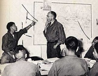 Special to the DailyTibetan resistance fighters were given world history lessons while being trained by the CIA at Camp Hale in the 1950s.