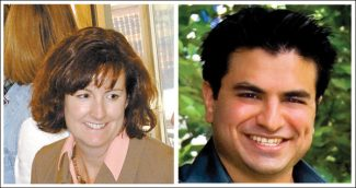 Vail Daily file photosChristine Scanlan and Ali Hasan differ on how quickly a monorail could be built from Denver to Vail
