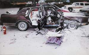 Courtesy of ATFA car bomb killed Gary Lee Triano in Tucson, Ariz., in 1996, and authorities suspect Aspen socialite Pamela Phillips was involved.