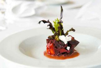 Special to the Vail DailyThe beets and artichokes dish at Vail's Terra Bistro