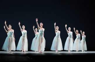 """Joe Gato/Special to the Vail DailyThe Miami City Ballet performs George Balanchine's """"Serenade."""" The troupe makes its Vail, Colorado debut Saturday and plans to perform the classic piece."""
