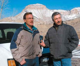 Vail Daily/Glenwood Springs Post Independent file Congressman John Salazar, right, joins former congressman Scott McInnis for an oil and gas tour on Colordo's Western Slope in 2006