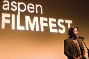 "Stewart Oksenhorn/Aspen Times file""Up in the Air"" director and co-writer Jason Reitman at the Wheeler Opera House during Aspen Filmfest 2009 in October."