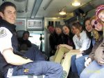 Students from the Vail Academy learn first-aid tips from the Eagle County Ambulance District last week. Thanks for sharing your time and knowledge with our students!