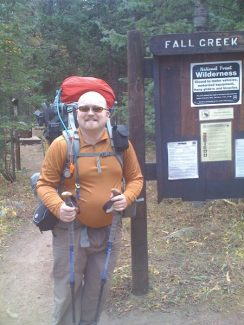 Special to the DailyCrews halted their search Tuesday for James Nelson, 31, of Chicago, who has not been seen or heard from since Oct. 3, when he set out on a five-day, 25-mile hike of Mount of the Holy Cross.