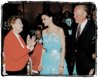 Special to the DailyBetty Ford nurtured Vail's long relationship with the Bolshoi Ballet Academy, which established a yearly summer school in Vail. The event was renamed the Vail International Dance Evenings, and later became the Vail International Dance Festival.