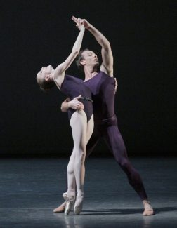 Wendy Whelan and Tyler Angle in