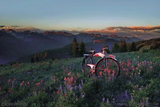 Todd Van Fleet/Special to the DailyPhotos such as this one of cruiser bikes in locations around Vail will be on display in Vail later this month.