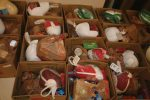 Thanks to everyone who helped us collect a ton of turkey last year! These are the baskets of food that go to our community members for Thanksgiving. Bring your turkey to KZYR or The Vail Daily building this week. The Salvation Army needs them to make baskets on Saturday!