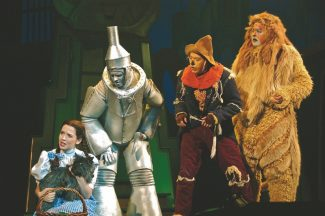 """Special to the DailyHere's a piece of Oz trivia for you. The stage adaptation of the """"The Wizard of Oz"""" includes the colorful musical number """"Jitterbug,"""" where Dorothy and her cohorts are bitten by bugs that make them dance until they drop, allowing the flying monkeys to carry them away. The number was cut from the movie."""