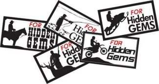Special to the DailyHidden Gems advocates have introduced five new stickers designed to show support among ranchers, hunters, snowmobilers, anglers and even dirt bikers.