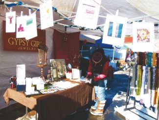Special to the DailyStop by the Minturn Winter Market Saturday to find those last-minute, hand-crafted holiday gifts, such as jewelry from Gypsy Girl Jewelry, scarves from Alithea Originals or photo cards from local photographer Courtney Shaw, all pictured here.