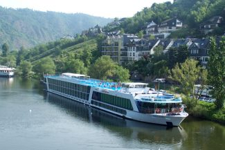 Special to the DailyHere the AmaLegro is docked on the Mosel River.
