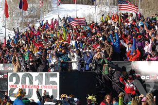 Special to the DailyIt's 1,000 days until the 2015 World Alpine Ski Championships return to Beaver Creek and Vail.