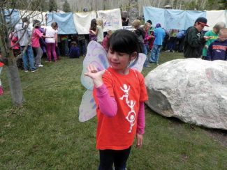 Special to the DailyHundreds of Eagle County third-graders will participate in the annual Butterfly Launch at noon today at Betty Ford Alpine Gardens in Vail's Ford Park.