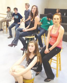 The cast of Life Unrehearsed is rehearsing for Friday's show. It's 6:30 p.m. at Vail Mountain School and is a benefit for the Taft Conlin Youth Foundation Memorial Scholarship Fund.