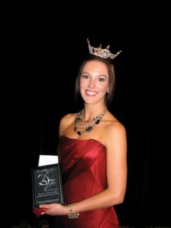 Special to the DailyMiss Eagle Valley, Kate Manley, is competing in the Miss Colorado Pageant in Denver.