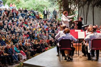 Cut: Joshua Bell performs at the Bravo Vail Valley Music Festival performance Saturday July 19th.