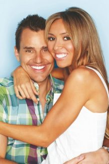 """Special to the DailyThis winter Bill and Giuliana Rancic will co-host a new NBC reality show called """"Ready for Love."""" Three matchmakers will help three bachelors and 28 women make connections. Guiliana, a journalist, interviewed Bill for a story and it was """"love at first sight,"""" Bill said."""