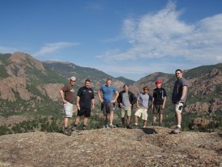 Special to the DailyThe hike to Bighorn Cabin takes about six hours.