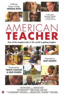 """Special to the Daily""""American Teacher"""" screened at the San Francisco International Film Festival, the San Antonio Film Festival, the New Orleans Film Festival, the United Nations Association Film Festival, the Napa Valley Film Festival, and most recently, the Denver Film Festival. """"American Teacher"""" was awarded silver in the documentary category of the 34th Philadelphia International Film Festival."""